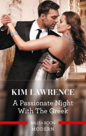 A Passionate Night With The Greek by Kim Lawrence