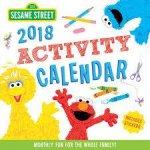 2018 Sesame Street Kids Activity Wall Calendar