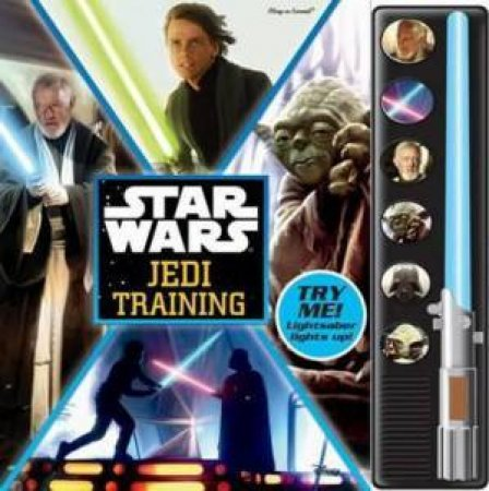 Star Wars: Jedi Training Lightsaber Book by Various