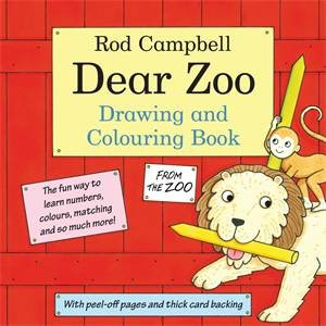 Dear Zoo: Drawing and Colouring Book by Rod Campbell
