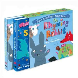 The Singing Mermaid And The Rhyming Rabbit Board Book Gift Slipcase by Julia Donaldson & Lydia Monks