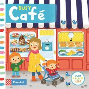 Busy Café by Louise Forshaw