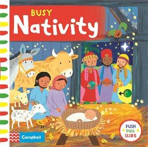 Busy Nativity by Macmillan Children's Books & Emily Bolam