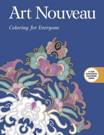 Art Nouveau Coloring For Everyone