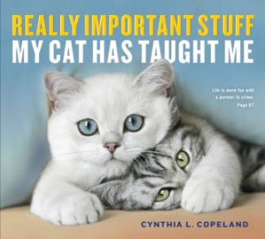 Really Important Stuff My Cat Has Taught Me by Cynthia Copeland