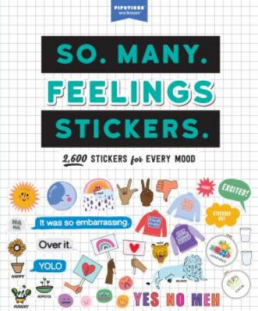 So. Many. Feelings Stickers.