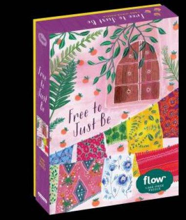 Free To Just Be 1,000-Piece Puzzle by Astrid van der Hulst & Irene Smit