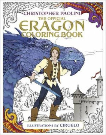 The Official Eragon Coloring Book by Christopher Paolini & Ciruelo
