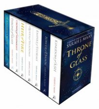 Throne Of Glass Paperback Box Set by Sarah J. Maas