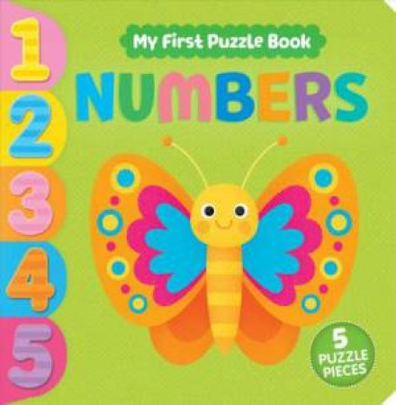My First Puzzle Book: Numbers by Daniela Massironi