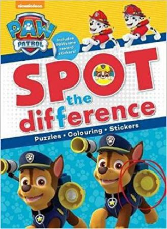 PAW Patrol: Spot the Difference by Various