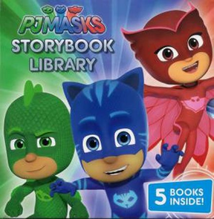 PJ Masks Story Book Library