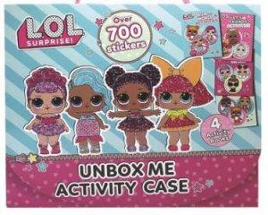 Unbox Me Activity Case: L.O.L. Surprise! On the Go by Various