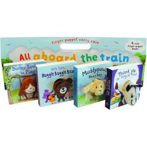 Finger Puppet Book Carry Case by Various