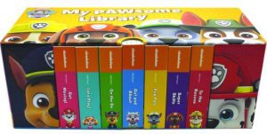 Nickelodeon PAW Patrol My Bookshelf 7 Board Books By Various