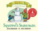 Squirrels Snowman
