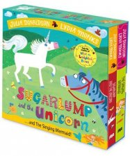 Sugarlump And The Unicorn And The Singing Mermaid Board Book Slipcase