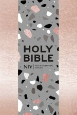NIV Pocket Rose Gold SoftTone Bible With Zip