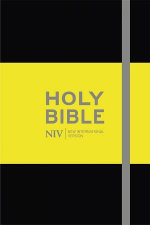 NIV Pocket Black Notebook Bible
