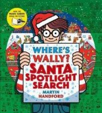 Wheres Wally Santa Spotlight Search