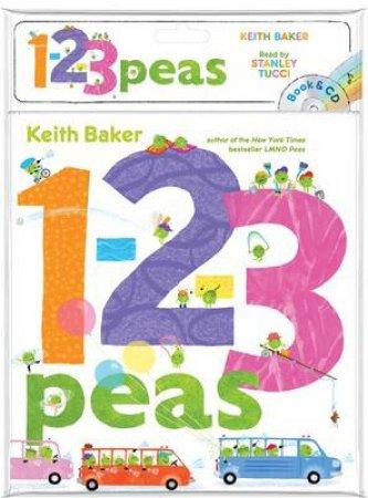 1-2-3 Peas: Book & CD