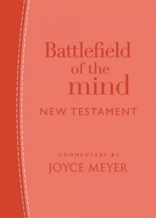 Battlefield Of The Mind New Testament (Coral Leather)