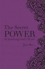 The Secret Power Of Speaking Gods Word New Deluxe Binding
