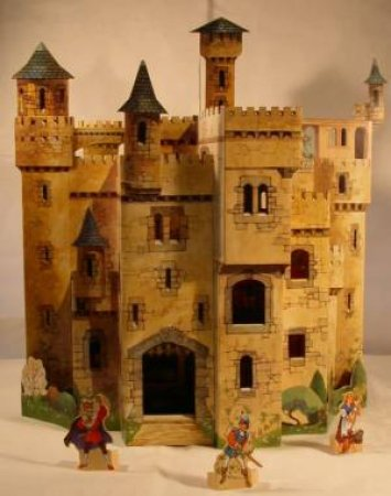 3D Pop-Up Play Scene: Enchanted Castle by Keith Moseley