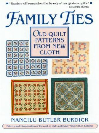 Family Ties by Nancilu Butler Burdick