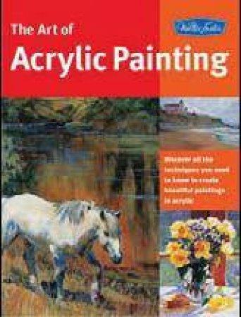 Acrylic Painting by Joan Hansen & William F Powell