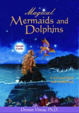 Magical Mermaids And Dolphins Oracle Cards and Guidebook