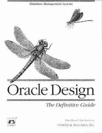 Oracle Design by Dave Ensor & Ian Stevenson