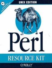 Perl Resource Kit UNIX Edition 4BksCD