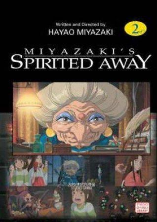 Spirited Away Film Comics 02 by Hayao Miyazaki