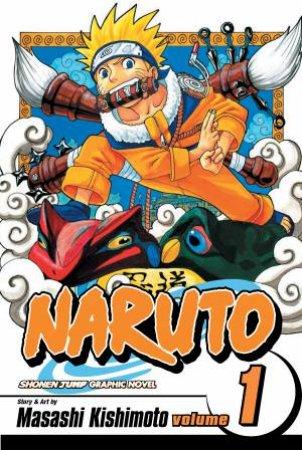 Naruto 01 by Masashi Kishimoto