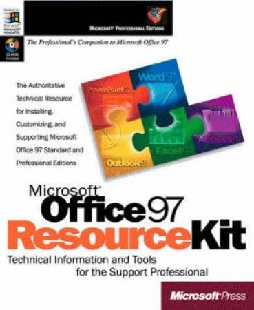 Microsoft Office 97 Resource Kit (Bk/Cd) by Microsoft Corporation