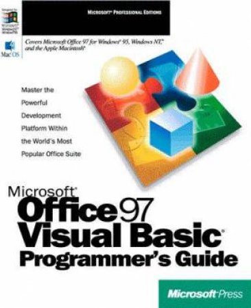 Microsoft Office 97 Visual Basic Programmer's Guide by Various