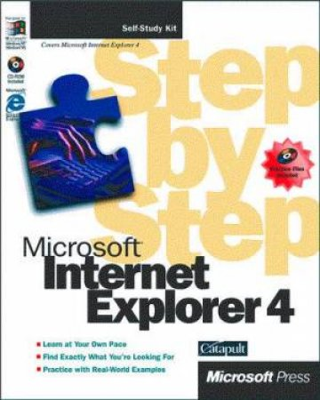 Microsoft Internet Explorer 4 Step By Step by Various