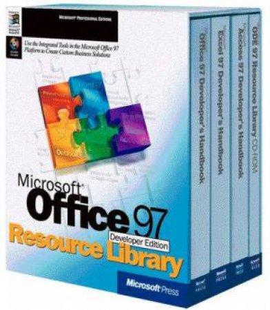 Microsoft Office 97 Developer Edition Resource Library by Solomon