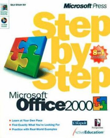 Microsoft Office 2000 8-In-1 Step By Step by Various