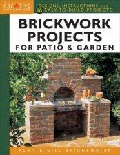 Brickwork Projects For Patio  Garden