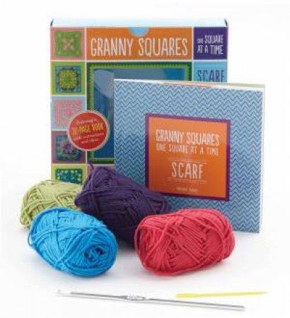 Granny Squares Scarf Kit by Margaret Hubert