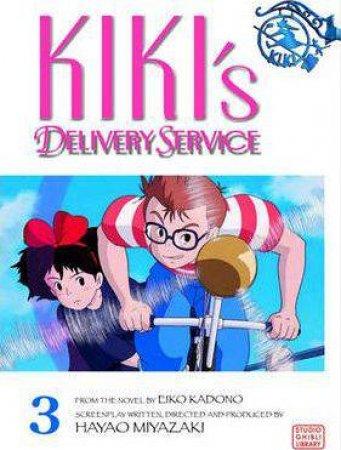Kiki's Delivery Service Film Comic 03 by Hayao Miyazaki