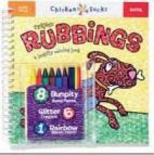 Chicken Socks Crayon Rubbings  6pk
