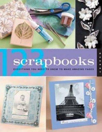 1, 2, 3 Scrapbooks