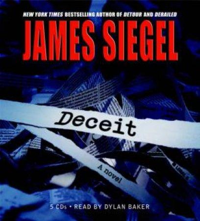 Deceit (CD) by James Siegel