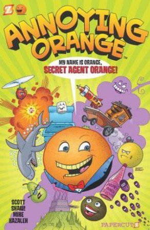 Secret Agent Orange by Scott Shaw & Mike Kazelah