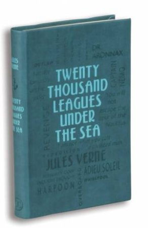 Word Cloud Classics: Twenty Thousand Leagues Under the Sea by Jules Verne