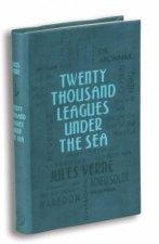 Word Cloud Classics Twenty Thousand Leagues Under the Sea