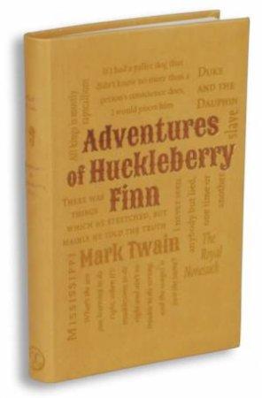 Word Cloud Classics: Adventures Of Huckleberry Finn by Mark Twain